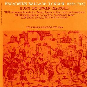 Ewan MacColl Broadside Ballads Vol2 London 1600 1700 Female Frollicks And Politicke